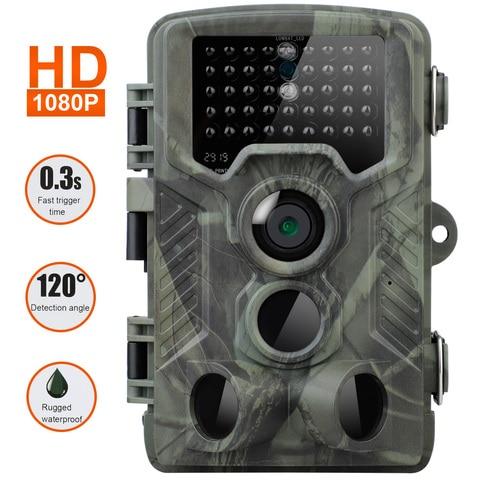 Câmera de Vigilância Caça Câmera Trilha Hc800a Infrared Night Vision Wildlife Scouting Cam ir Rastreamento 20mp 1080p hd