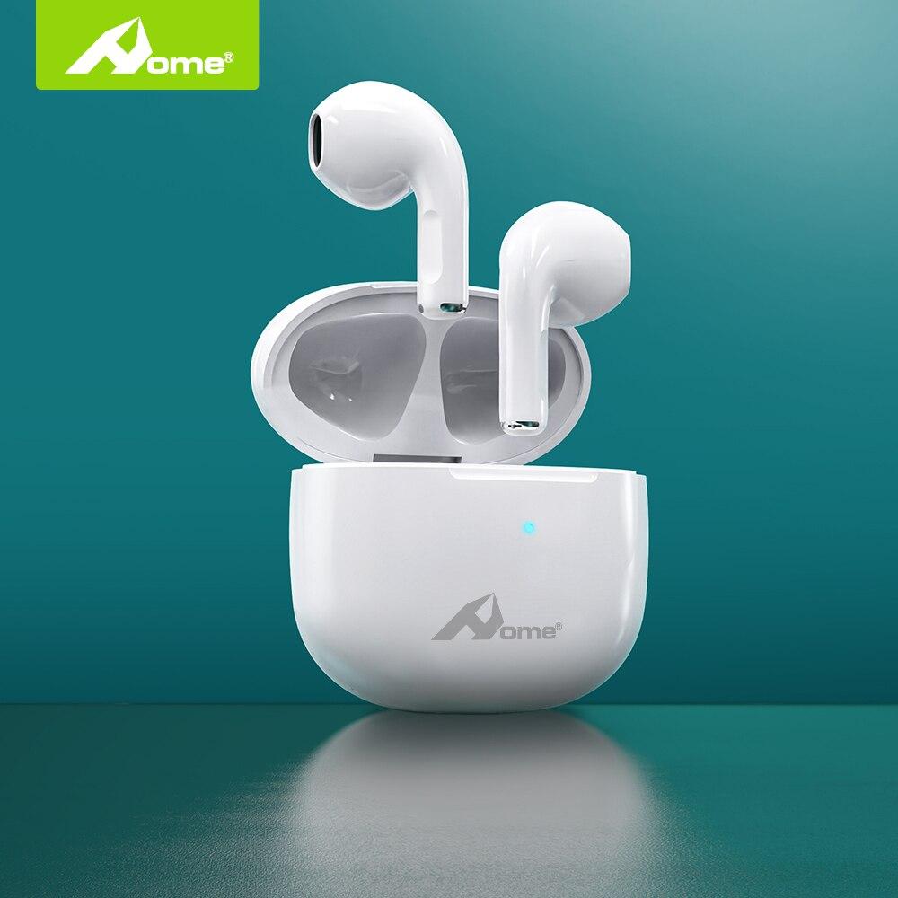 Домашние беспроводные наушники Y4 с глубокими басами и низкой задержкой, миниатюрные наушники-вкладыши, HD микрофон для Apple iPhone, Bluetooth, сенсорн...