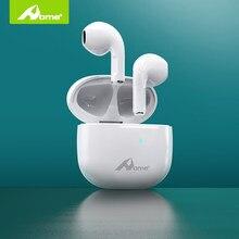 Casa y4 fone de ouvido sem fio com graves profundos baixo atraso in-ear mini fones de ouvido hd microfone para apple iphone bluetooth toque fones de ouvido