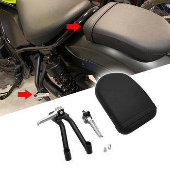 Motorcycle Sets Driver Rider Foot Rests Cafe Racer Custom Passenger Seat Fit For Honda CMX300 500 300A 500A