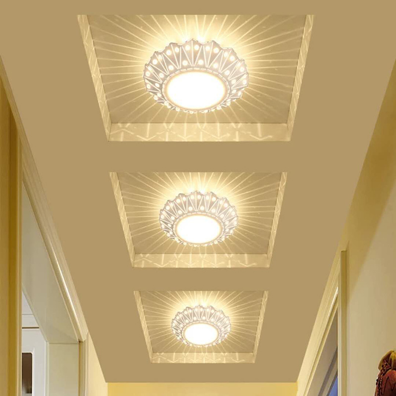 Встроенный Ming консилер светодиодный Светодиодный светильник для коридора минималистичные современные персонализированные и креативные