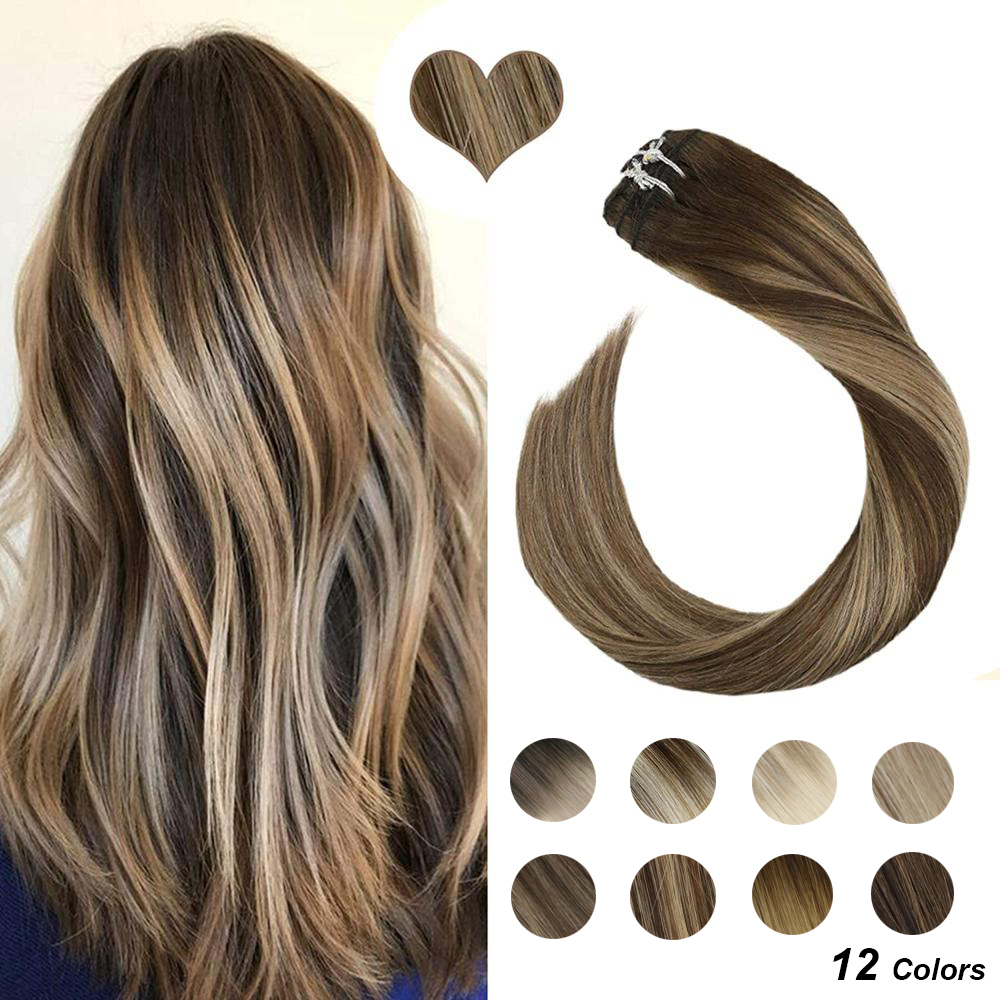 [Sale] Ugeat Clip In Hair Extensions 14-24