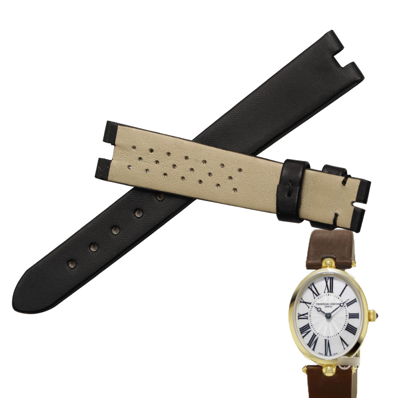Frederique constant classics FC 200MPW2VD9 가죽 스트랩 시계 밴드 용 wentula 시계 밴드-에서워치 밴드부터 시계 의