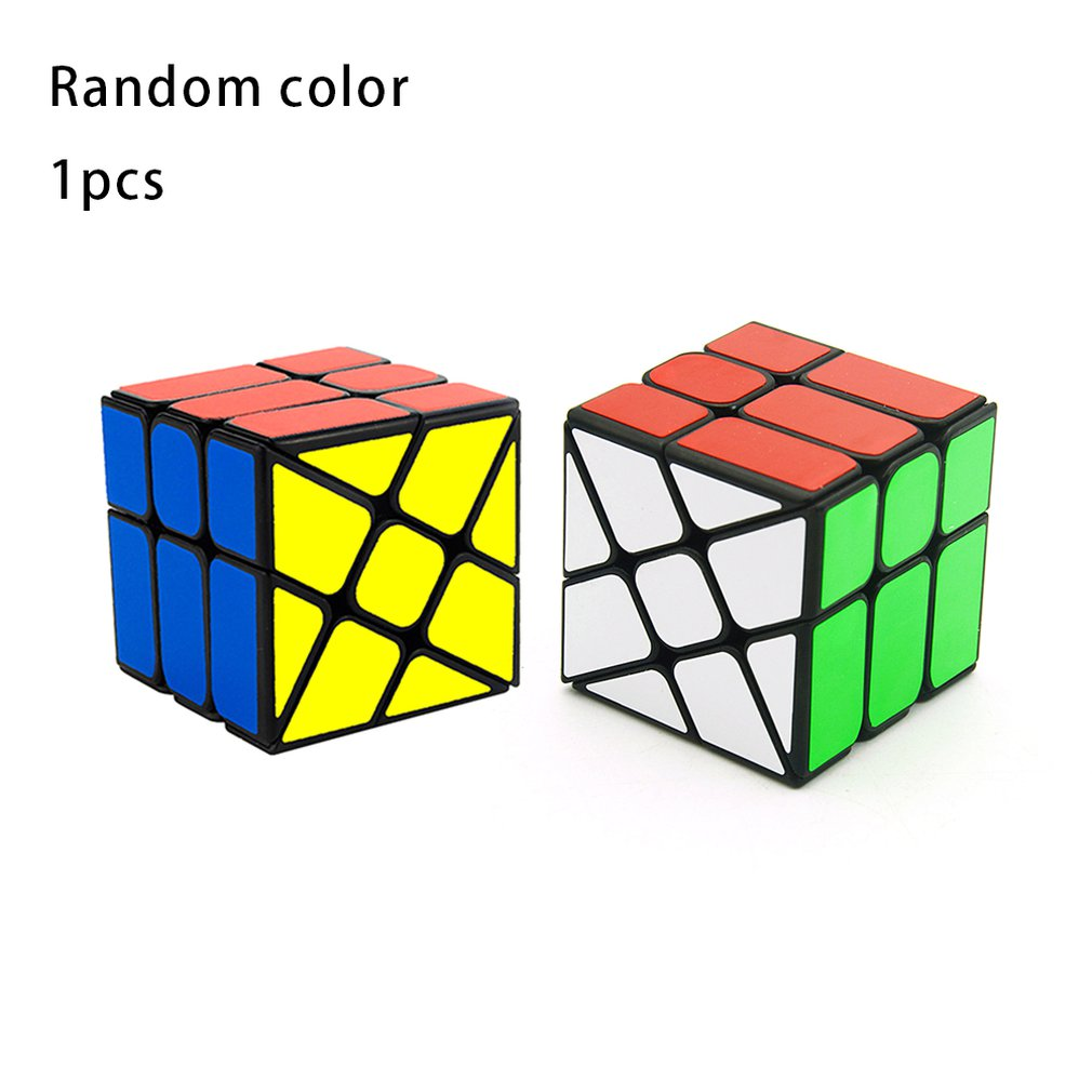 Magic Cube Professional Competition Speed Cube Hot Wheels Windmills Third-order Shaped Cube Children Toys Kids Gifts Playful New