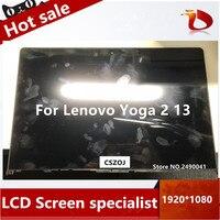 13.3 بوصة LCD اللمس محول الشاشة الرقمي B133HAN02.0 LP133WF2 SPA1 لينوفو yoga 2 13 yoga 2 13 LCD الجمعية الشاشة