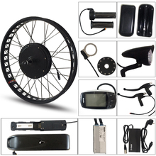 CASDONA Electric bicycle 48V 500W kit for 26x4.0 inch wheel motor kettle battery LED LCD electric car Ebike e