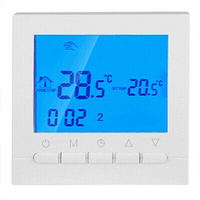 Programmable Thermostat Set LCD Screen Smart Digital Application Control Temperature Family Intelligence System