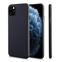 Original Designer 100% Real Aramid Fiber Case For iPhone 11 Pro Max Ultrathin Protection Armor Fiber iPhone XI XIR XS MAX 2019