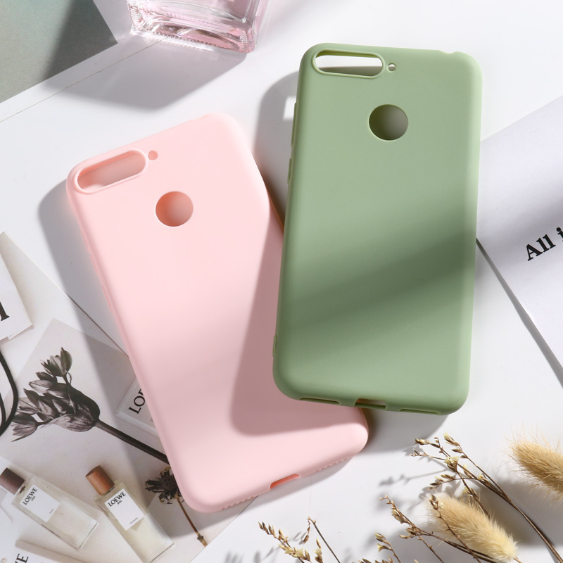 Candy Case For <font><b>Huawei</b></font> P20 Lite P Smart 2019 Z Y9 Prime P8 <font><b>2017</b></font> Nova 4 2 Honor 7C 7A 7X 20 Pro 10 9 <font><b>Y6</b></font> Y7 2018 P9 Lite Mini Cases image