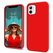 BENTOBEN Luxury Liquid Silicone Phone Case for iPhone 11 XR XS MAX Pro SE 6 7 8 Plus Slim Soft TPU Phone Cover Shockproof Cases plating tpu phone case for iphone 11 pro max 6 7 8plus xs max xr soft silicone upscale phone cases mobile phone accessories