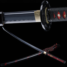 Handmade japanese katana sword real steel ninjato swords sharp edge