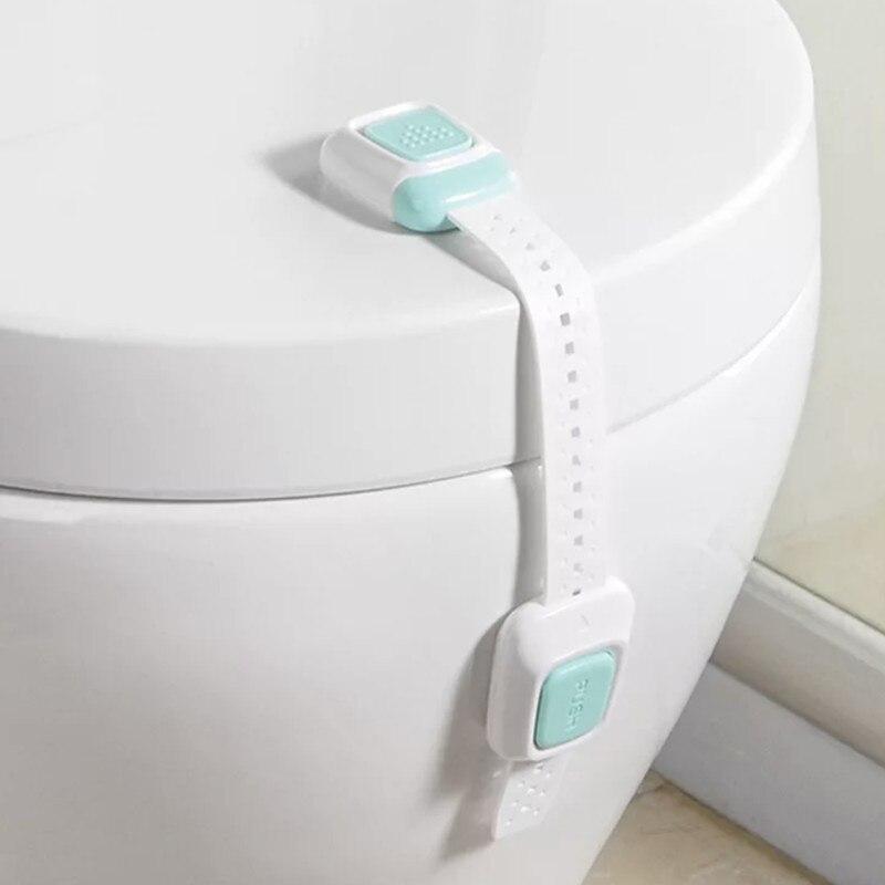 10pcs/lot Baby Kids Children Proofing Home Security Safety Cabinet Refrigerator Drawer Cupboard Box Fridge Door Lock