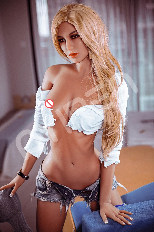 He778d4c473e748ef9e878368ab27f815d AYIREN-Muñeca sexual realista para hombres adultos, juguete erótico de silicona, de 165cm, Con pechos, vagina y ano, para sexo Oral