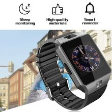 Smartwatch DZ09 Smart Watch Support TF Card SIM Camera Sport Bluetooth Wristwatch for Samsung Huawei Xiaomi Android Phone(China)