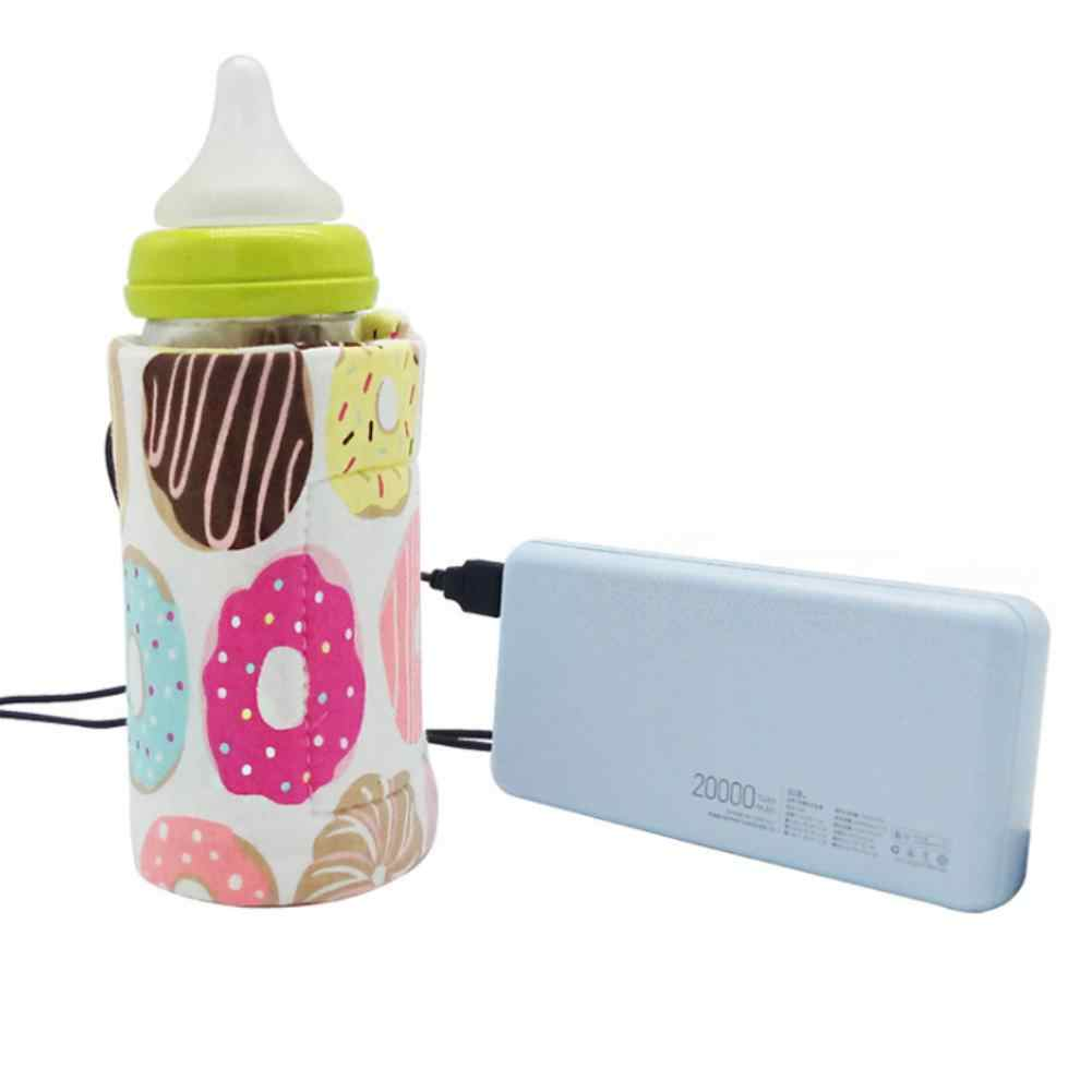Portable USB Baby Milk Bottle Warmer Heater Coffee Tea Mug Beverage Warming Bag let your baby have a better appetite