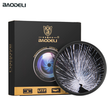 BAODELI Uv Filter 37 40.5 43 46 49 52 55 58 62 67 72 77 82 mm For Lens Canon Eos M50 M6 1200 D Nikon 5300 5100 Sony Accessories