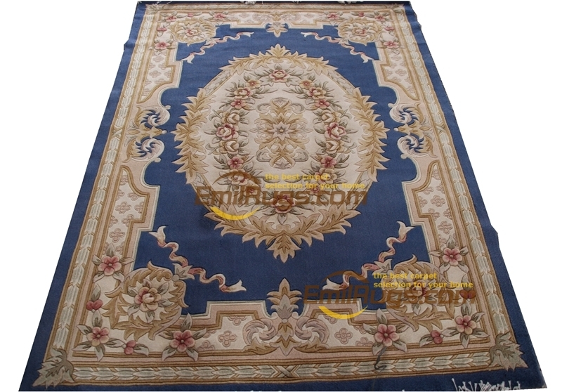 Home Decoration Carpet Big For Living Room French About Machine Made Thick Plush 137X198cm 4.5'X6.5'