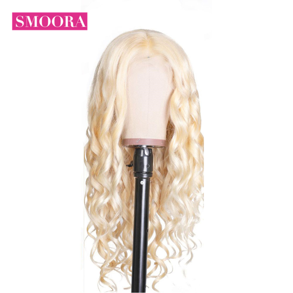613 Lace Front Honey Blonde Wig  Body Wave Wigs  150% Density  Transparent 13x4 Lace Front Wig 1