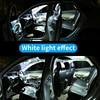14 Bulbs White LED Car Light Interior Kit Fit For Chevrolet Tahoe 2007-2010 2011 2013 2014 Map Dome Trunk Cargo License Lamp 3