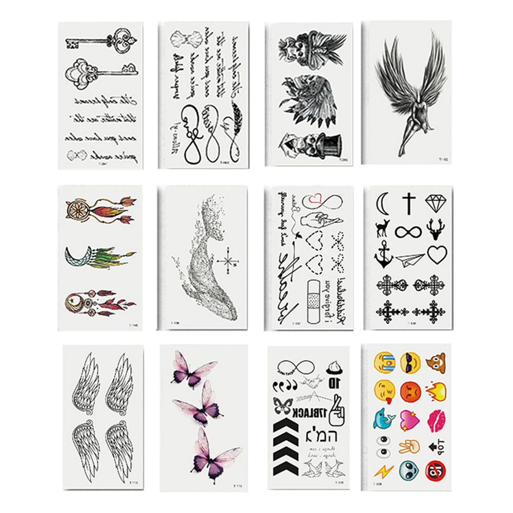 Waterproof Temporary Fake Wing Butterfly Tattoo Sticker Sexy Body Art Decal Long Lasting Temporary Tattoo Suits  Beach Festival