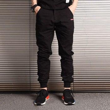 Fashion Streetwear Men Jeans Loose Fit Slack Bottom Casual Harem Trousers Cargo Pants Men Japanese Style Hip Hop Joggers Pants