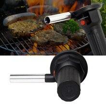 Электрический вентилятор для барбекю воздуходувка помощь сжигание пикника приготовление зажигалок оборудование для барбекю JS21