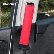 2 uds almohadilla de cinturón de seguridad para bebés para accesorios de asiento de coche almohadilla de protección de hombro Cinto en la funda de cinturón de seguridad de automóvil almohada de algodón