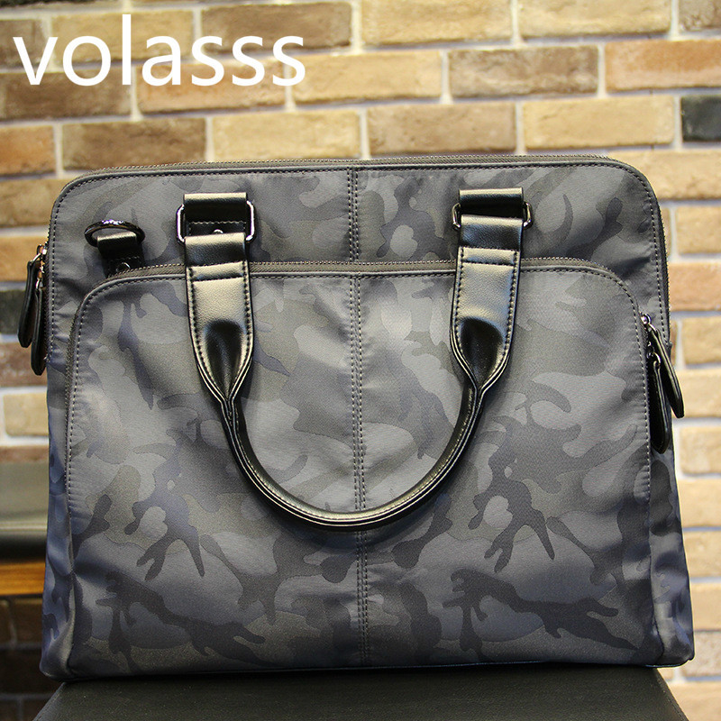 Women Men Briefcases Camuffamento 15 Inch Men's Bag For Large Capacity Laptop Handbag Portable Briefcase Bussiness Notebook Bags