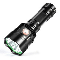 18650 Powerful LED Flashlight XHP70 Torch USB Rechargeable Waterproof Lamp Ultra Bright aluminum alloy
