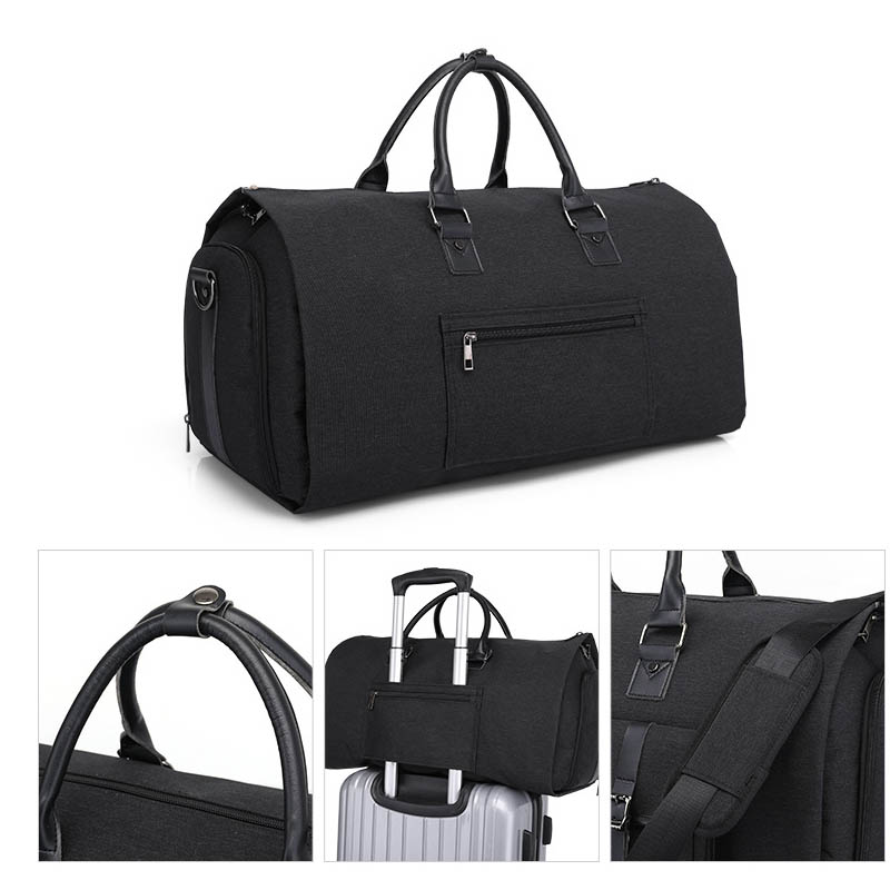 Business Large Capacity Men Oxford Handbags Outdoor Sports Luggage Storage Bag Durable Travel Bags Suit Garment Accessories