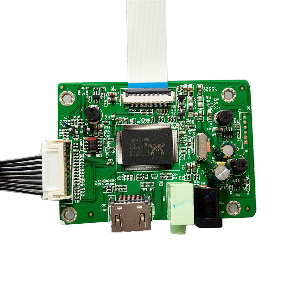 HD 1080P Universal EDP LCD Driver Board HDMI To EDP Adapter Board For 30-pin EDP LCD Driver Board Controller Board