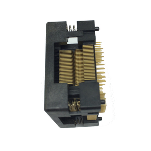 Image 5 - TQFP100 FQFP100 LQFP100 Burn in Socket OTQ 100 0.5 09 Pin Pitch 0.5mm IC Body Size 14x14mm Open Top Test Adaptercket Adapter