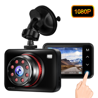 Ainhyzic IPS Touch Screen Car HD Night Vision Camera Recorder Parking Monitor Car Camera Video DVR