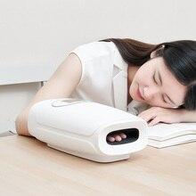 Masajeador eléctrico manual PMA, masaje inalámbrico de punta de acupuntura de Palma con presión de aire y compresión de calor
