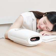 PMA elektrikli el masaj aleti Palm parmak akupunktur noktası kablosuz masaj ile hava basıncı ve ısı sıkıştırma