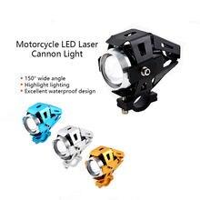1 pièces LED moto phares voiture électrique LED forte lumière projecteurs batterie modifiée lumières externes