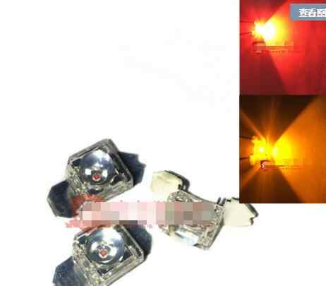 Mix 2 soorten superfulx 5mm led diode voor auto remlicht piranha leds 2pin