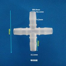 Pipe-Fitting Garden-Hose-Connector Cross-Water-Tube Barbed-Equal Plastic PP 4-Way Pagoda