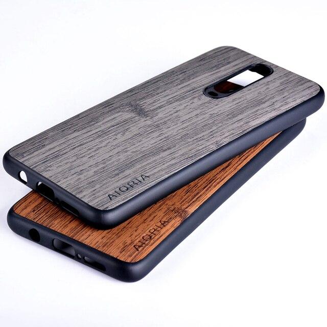 Bambou comme étui pour Xiaomi Poco X2 Redmi K30 5G bonne sensation de toucher Anti empreinte digitale pas de Coque sale Fundas K20 Pro