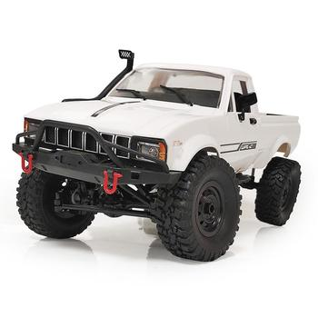 WPL C24-1 4WD 1/16 Kit 2.4G Crawler Off Road RC Car 2CH Vehicle Models With Motor Servo and Head Light 2