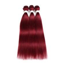 Red Blonde Brown Human Hair
