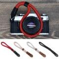 Besegad ручной работы нейлоновый ремешок на запястье для цифровой камеры плетеный браслет для Canon Sony Leica ремень для цифровой зеркальной камеры