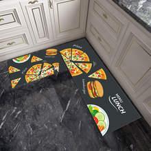 Домашний ковер для кухни декоративный нескользящий ресторана