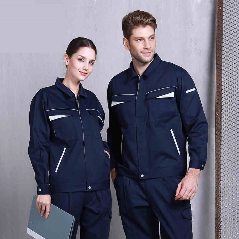 High End Working Clothes Set Welding Suit Anti-static Wear-resistant Mechanical Workshop Uniforms Factory Engineering Coveralls