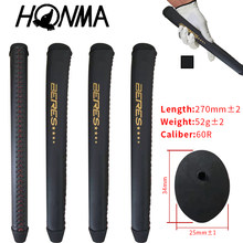 NEW Honma Golf Putter Grips Leather Seam Material exclusive sales Beres Golf Club Putter Grips Hot Hand stitching(China)