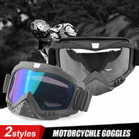 Gafas DERI Motocross Moto todoterreno MX gafas de protección UV Moto Googles a prueba de polvo gafas