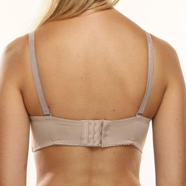PariFairy Sexy Femme Vest Deep V Bras Women Underwear Lingerie Top Padded Push Up Brassiere Floral Lace Soutien Gorge 15