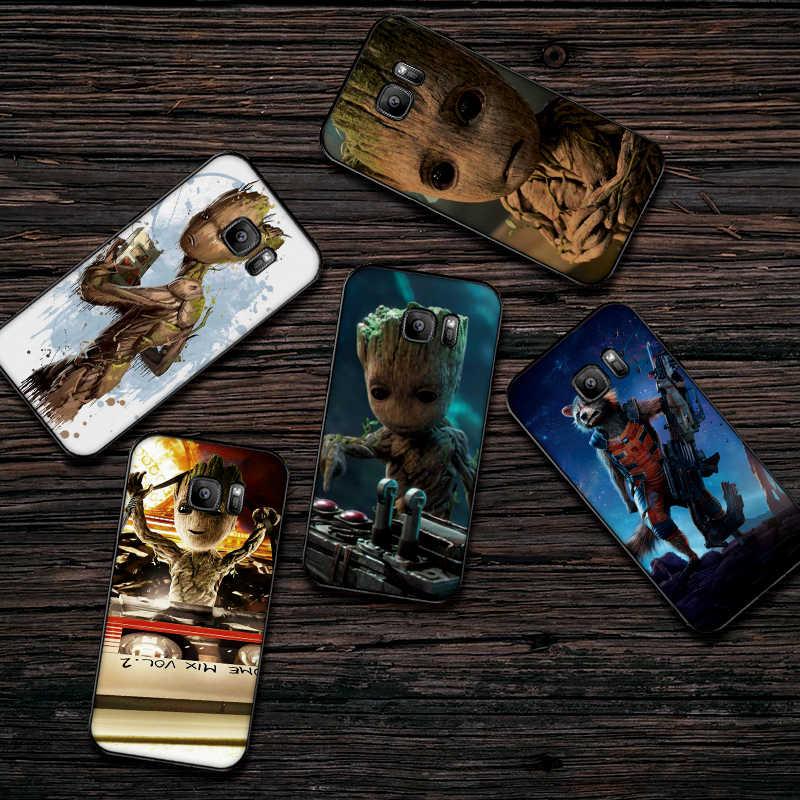 Los Vengadores fundas de teléfono móvil para Samsung A5 3 6 7 8 9 10 A10 A20 30 40 50 60 cubierta de silicona suave 70 M40
