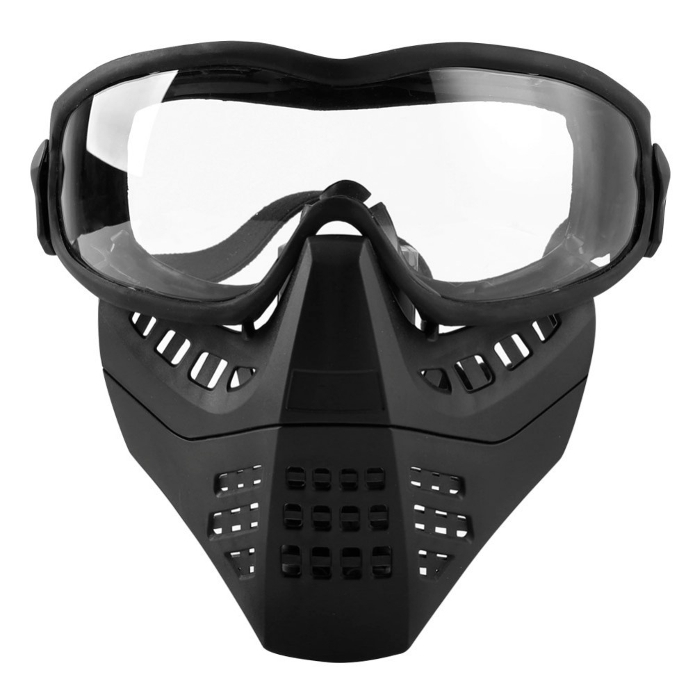 WOSPROT NEW CS Tactical Lens System Double Disassembly Tactical Aircraft Mask Shooting Gun CS Shooting Gun Shield
