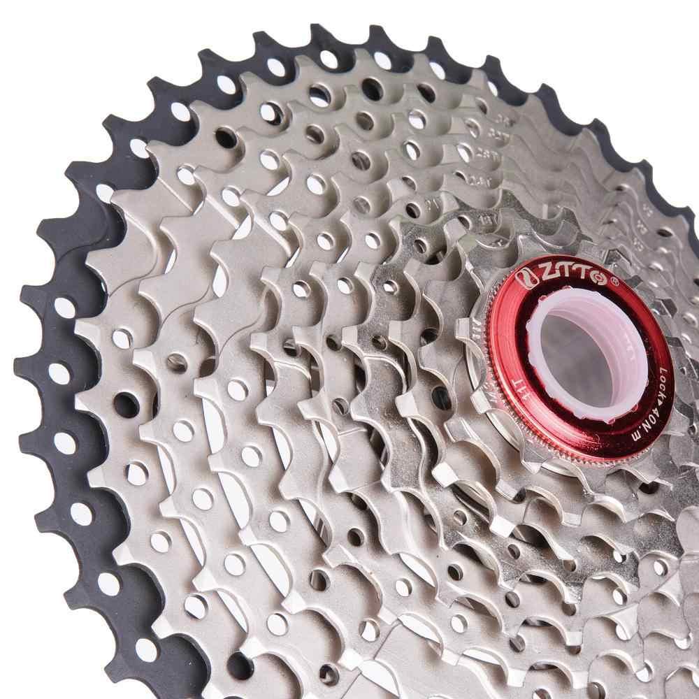 ZTTO 11 42 т 10 скоростей 10 s широкого соотношения MTB горный велосипед кассета коронки для Запчасти m6000 m590 m610 m675 m780 X5 X7 X9